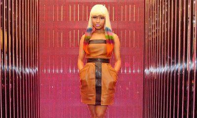 Nicki Minaj, rapper behind the song Super Bass