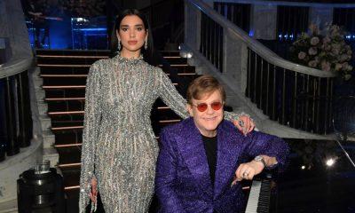 Elton John Dua Lipa