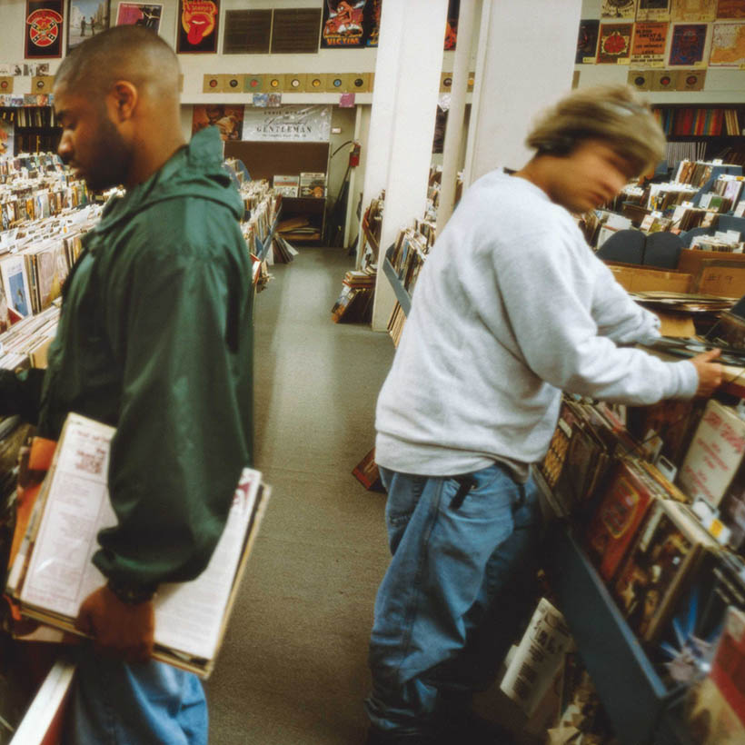 DJ Shadow Endtroducing album cover