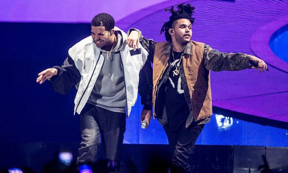 Drake and The Weekend - Photo: Ollie Millington/WireImage
