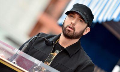 Eminem Venom - Photo by Axelle/Bauer-Griffin/FilmMagic