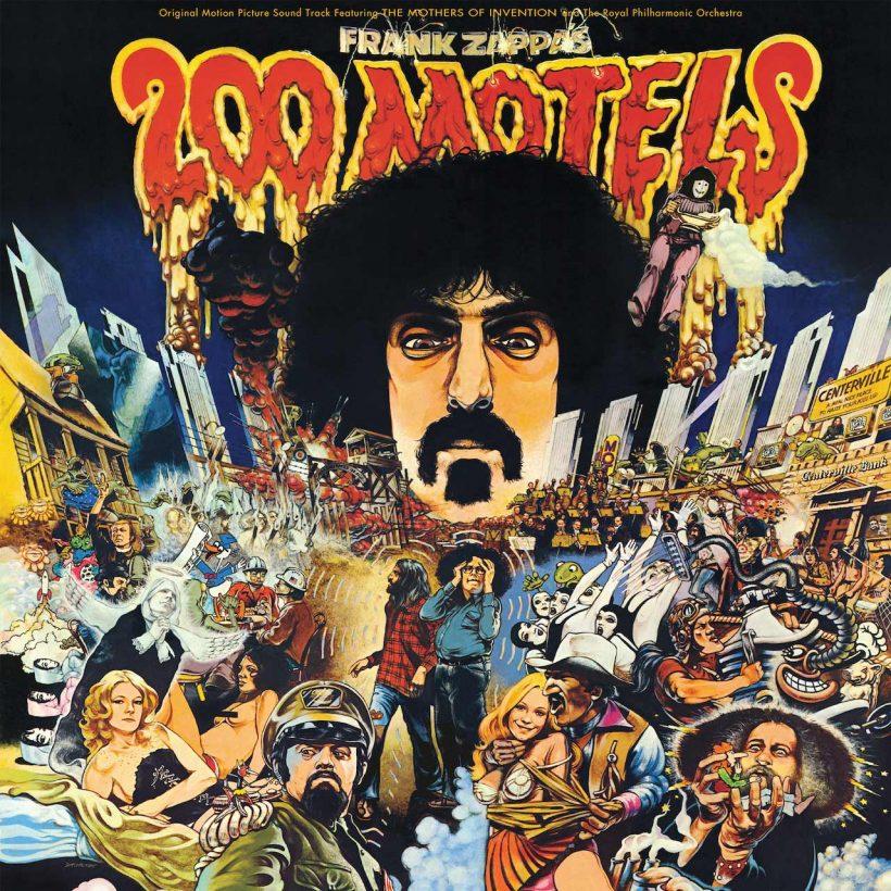 Frank Zappa 200 Motels Artwork: UMe