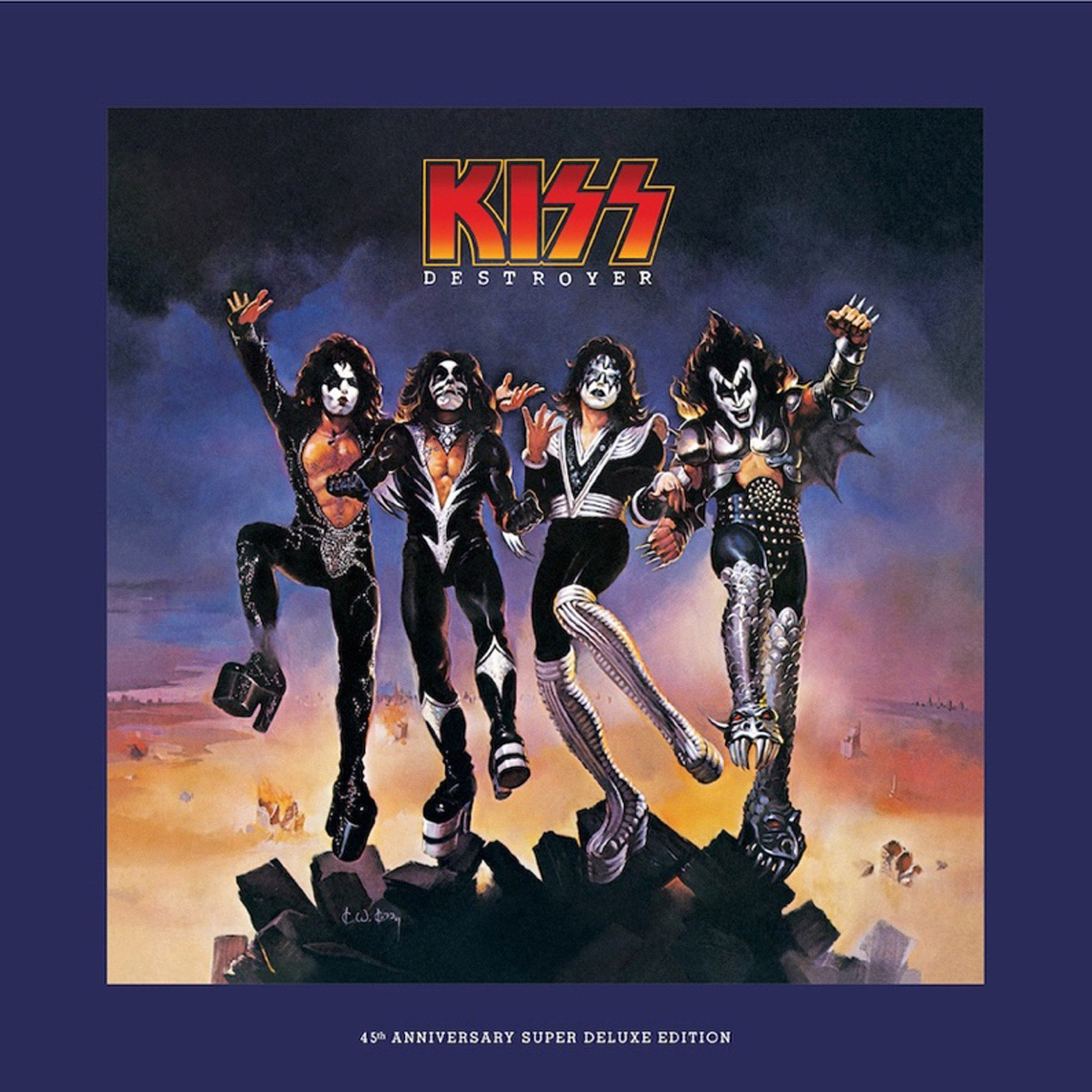 KISS Announce Super Deluxe Edition Of Destroyer