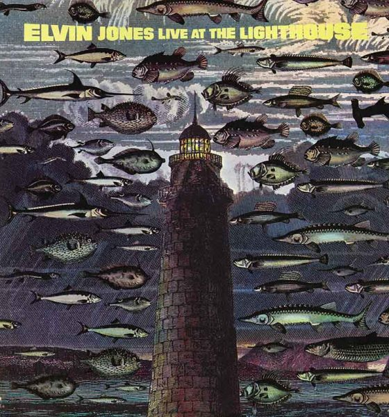 Cover of Elvin Jones jazz album, Live at the Lighthouse Cafe