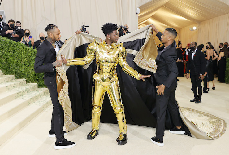 Lil Nas X Met Gala - Photo: Mike Coppola/Getty Images