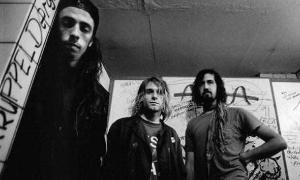Nirvana Nevermind: Photo by Paul Bergen/Redferns