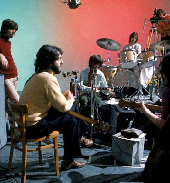 The Beatles at Twickenham Film Studios, January 7, 1969. Photo: Jeremy Neech