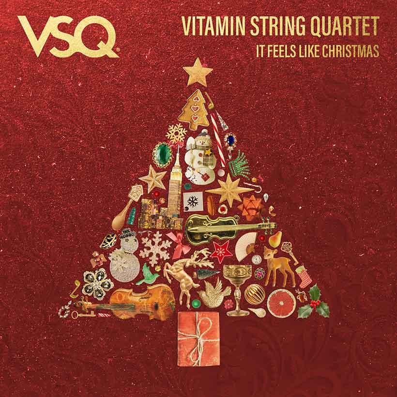 Vitamin String Quartet It Feels Like Christmas cover