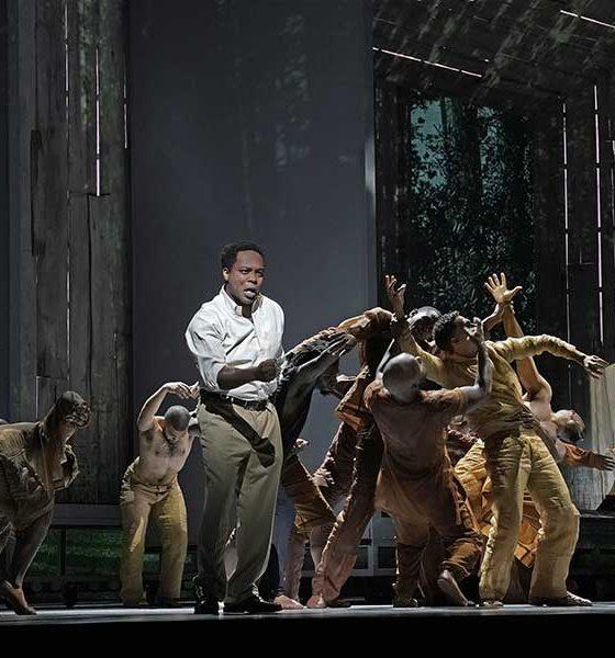 Will Liverman in Terence Blanchard's Fire Shut Up in my Bones at Metropolitan Opera photo