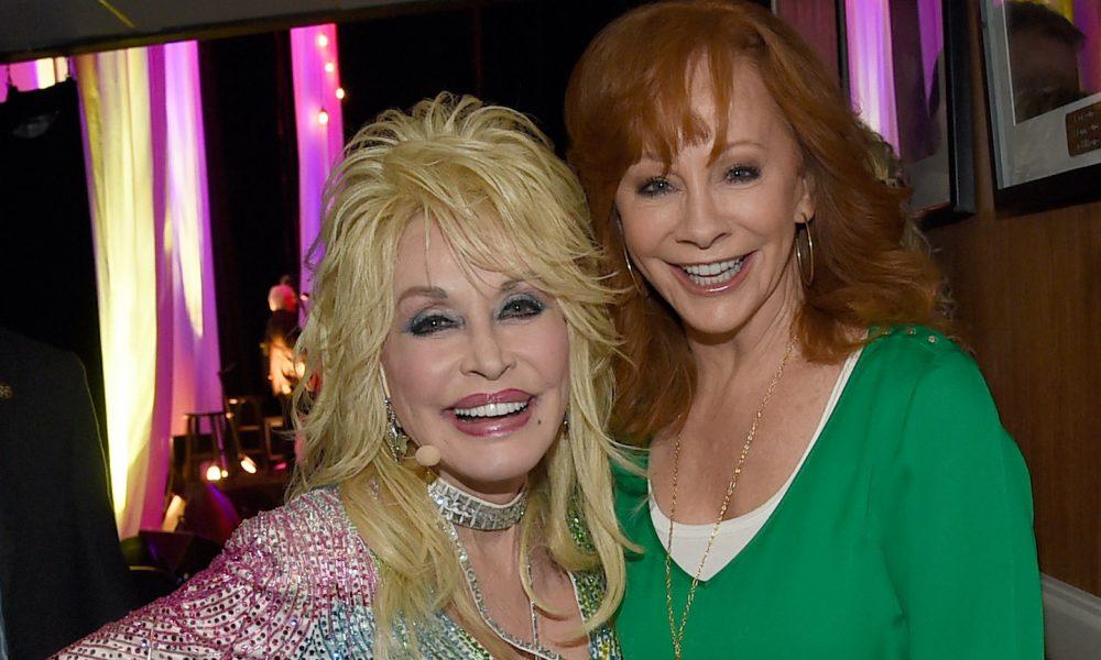 Dolly Parton & Reba McEntire photo: Rick Diamond/Getty Images