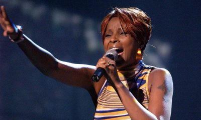 Mary J. Blige rehearsing for the BET Awards, the same year that Family Affair was released