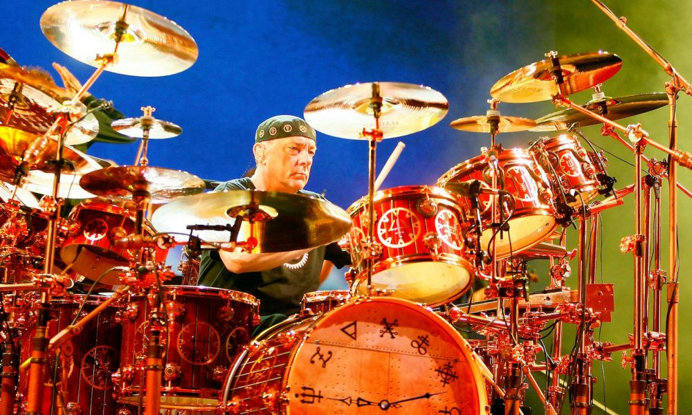 Neil Peart photo: Mike Lawrie/Getty Images