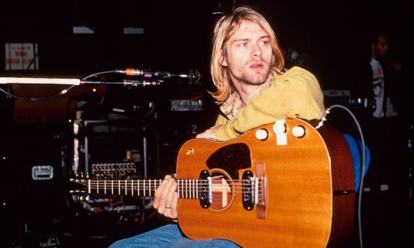 Smells Like Teen Spirit co-writer Nirvana's Kurt Cobain