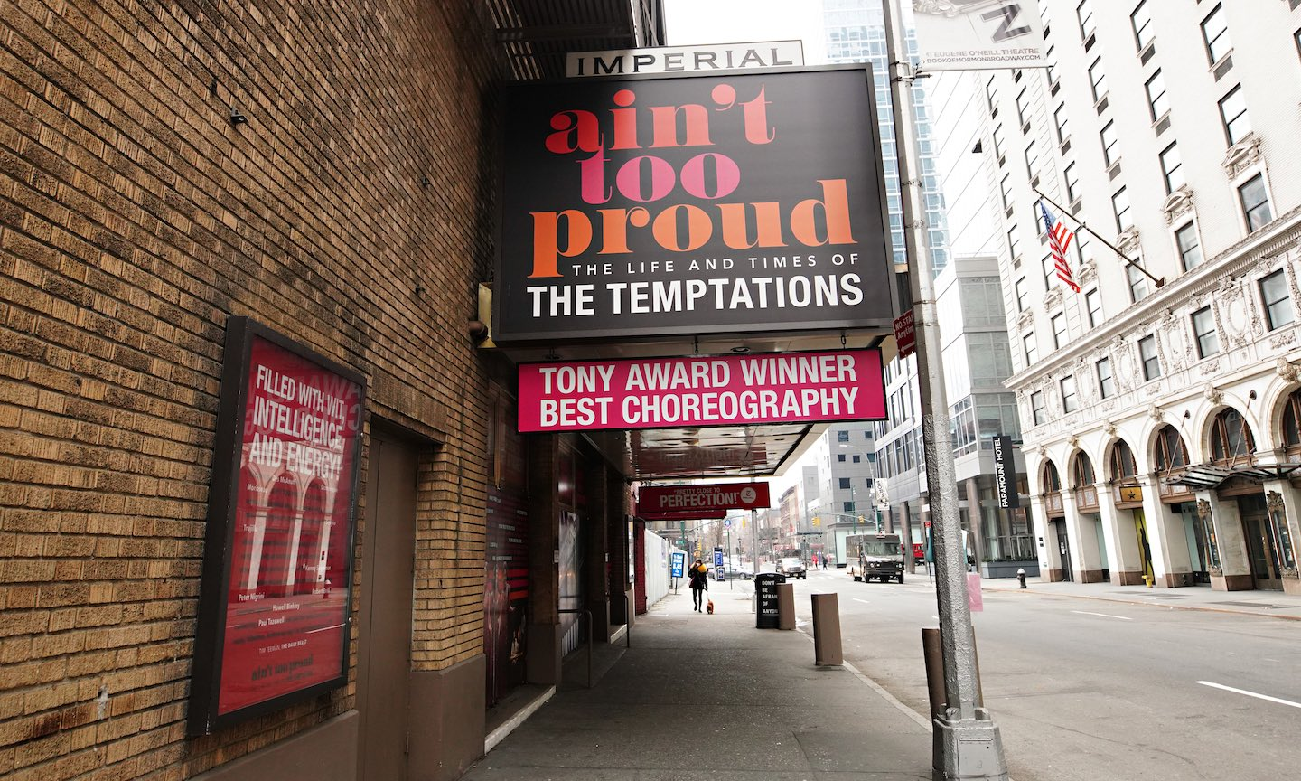 Award-Winning Temptations Musical 'Ain't Too Proud' Back On Broadway