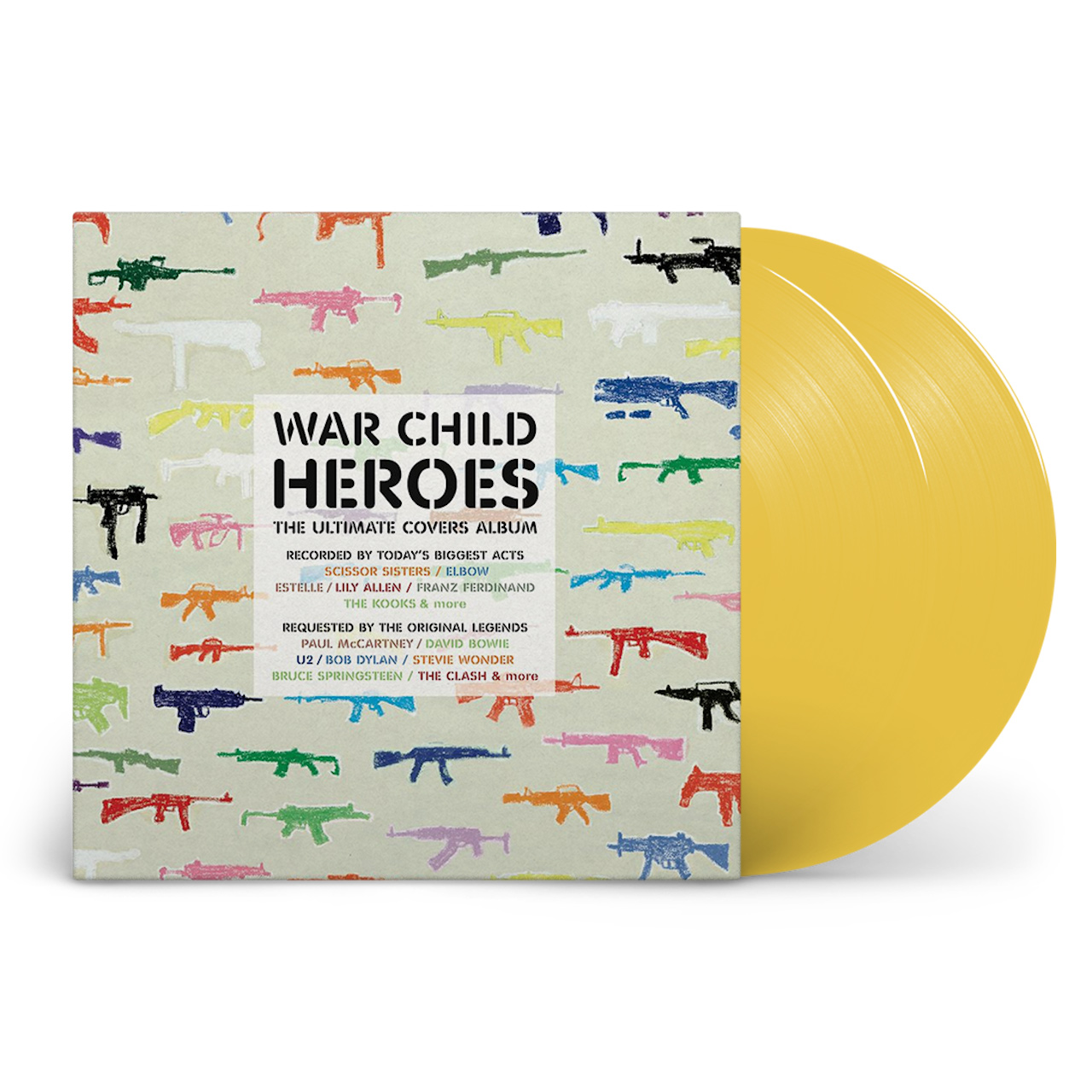 Four Landmark War Child Charity Compilations To Receive Vinyl Reissues