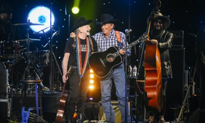 Willie Nelson & George Strait photo: Jason Kempin/Getty Images for A+E Networks
